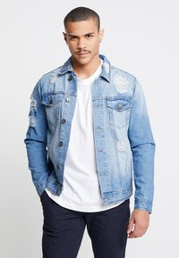Redefined Rebel - JASON JACKET - Denim jacket - light blue - 0