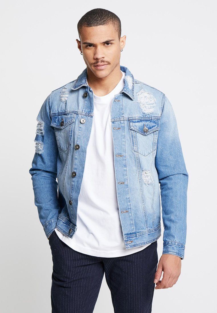 Redefined Rebel - JASON JACKET - Denim jacket - light blue