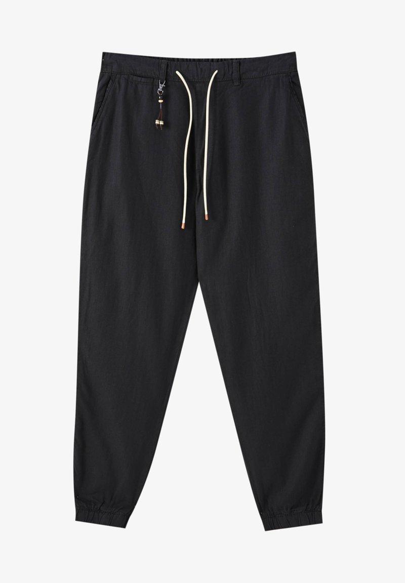 PULL&BEAR - Chino kalhoty - black