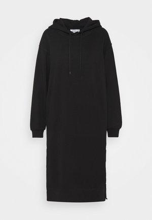 MARCIE HOOD DRESS - Day dress - black dark