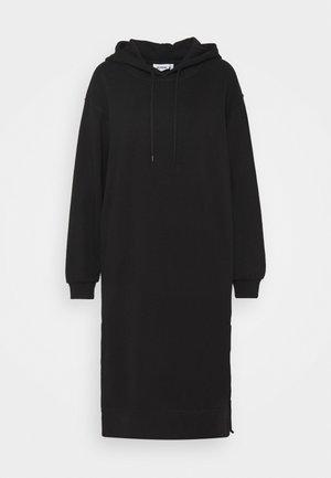MARCIE HOOD DRESS - Kjole - black dark