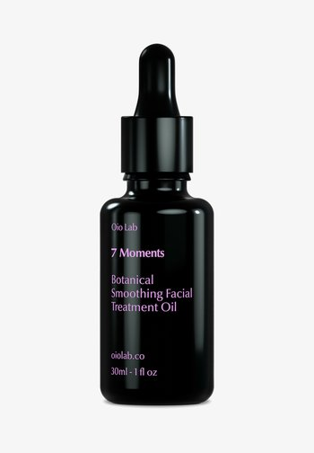7 MOMENTS - BOTANICAL SMOOTHING FACIAL TREATMENT OIL 30 ML - Face oil - schwarz