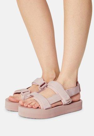 VMLIA - Platform sandals - sepia rose