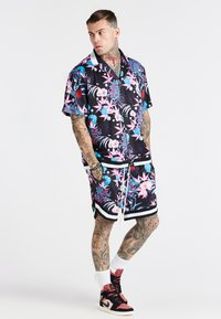 SIKSILK - LOOSE FIT AOKI SHIRT - Shirt - blue/pink/white - 1