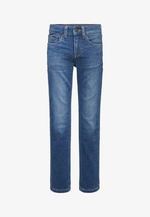SCANTON FADED KNEE - Straight leg jeans - brushedblue