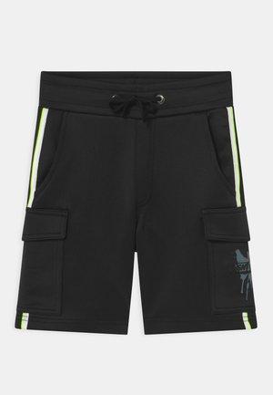 RARGO - Cargo trousers - deep black