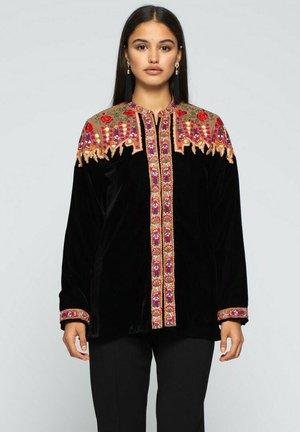 CON BORDADO - Summer jacket - black