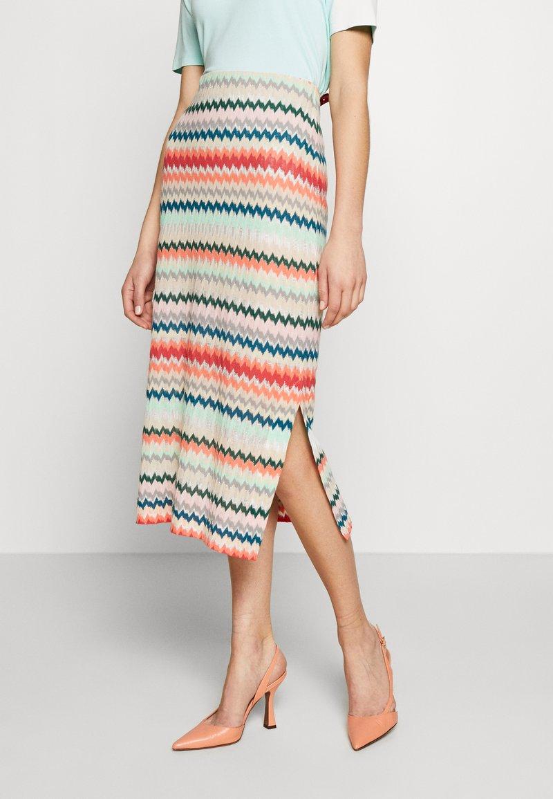 RIANI - MASCHENWARE - Pouzdrová sukně - multicolour