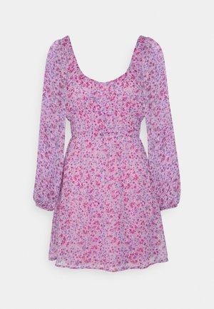 OWN IT SMOCK DRESS - Day dress - lilac