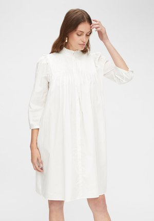 YASROBBIA - Shirt dress - star white