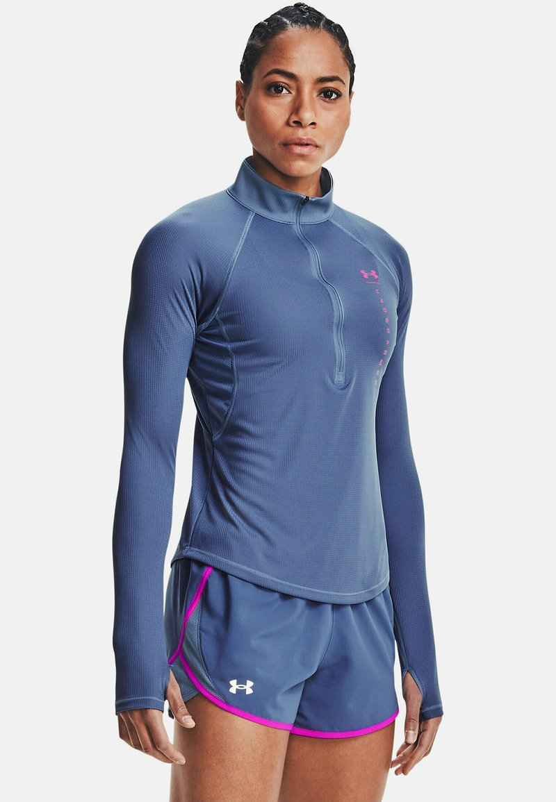 Under Armour - Sports shirt - mineral blue