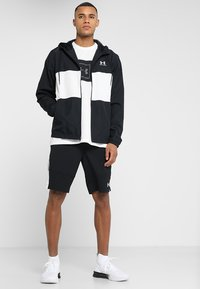 Under Armour - Training jacket - black/onyx white - 1