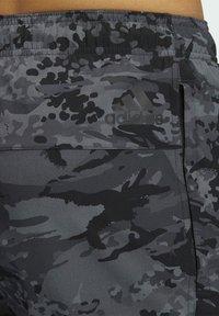 adidas Performance - 3 BAR CAMOUFLAGE DESIGNED4TRAINING PANTS - Träningsbyxor - black - 3
