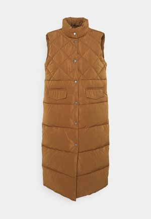 ONLSTACY QUILTED WAISTCOAT - Waistcoat - toasted coconut