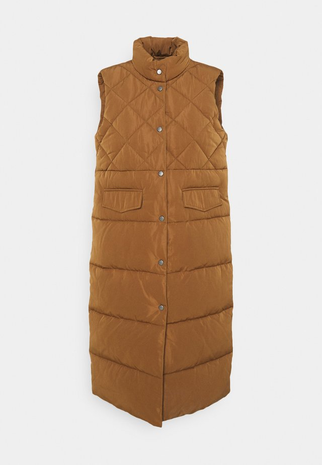ONLSTACY QUILTED WAISTCOAT - Vesta - toasted coconut