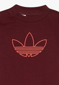 adidas Originals - OUTLINE SET - Short - burgundy - 4