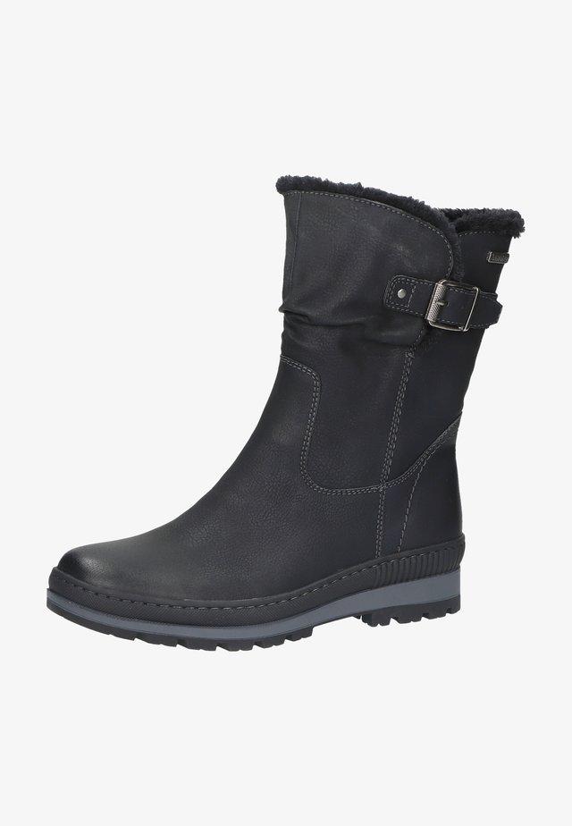 Korte laarzen - schwarz 1