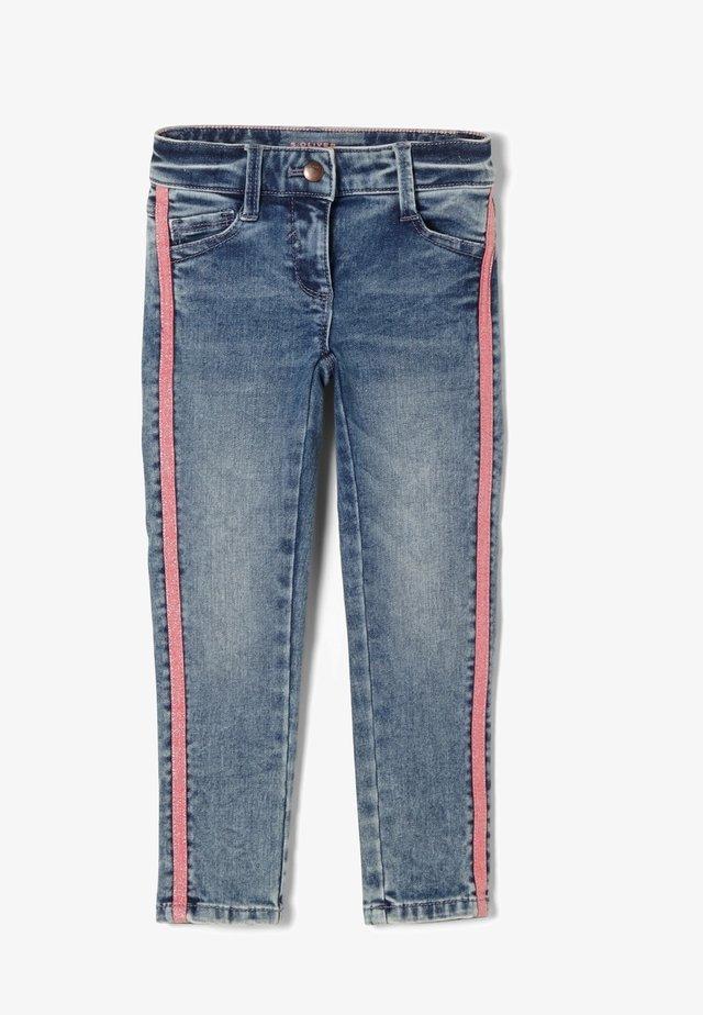MIT TAPE - Jeans Skinny Fit - blue