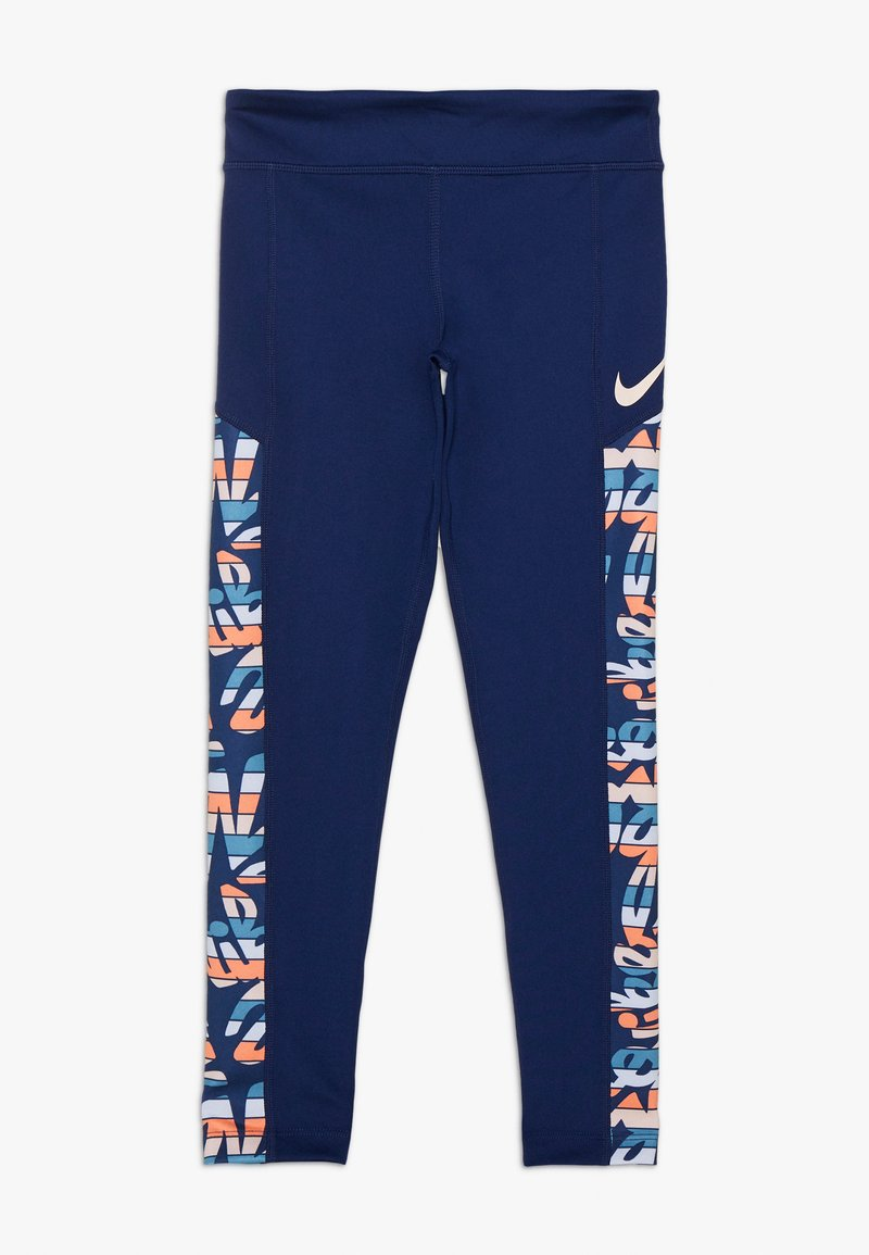 Nike Performance - TROPHY  - Leggings - blue void/white