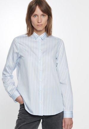FASHION - Button-down blouse - blue