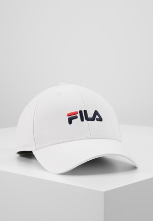 PANEL STRAP BACK LINEAR LOGO - Cap - bright white