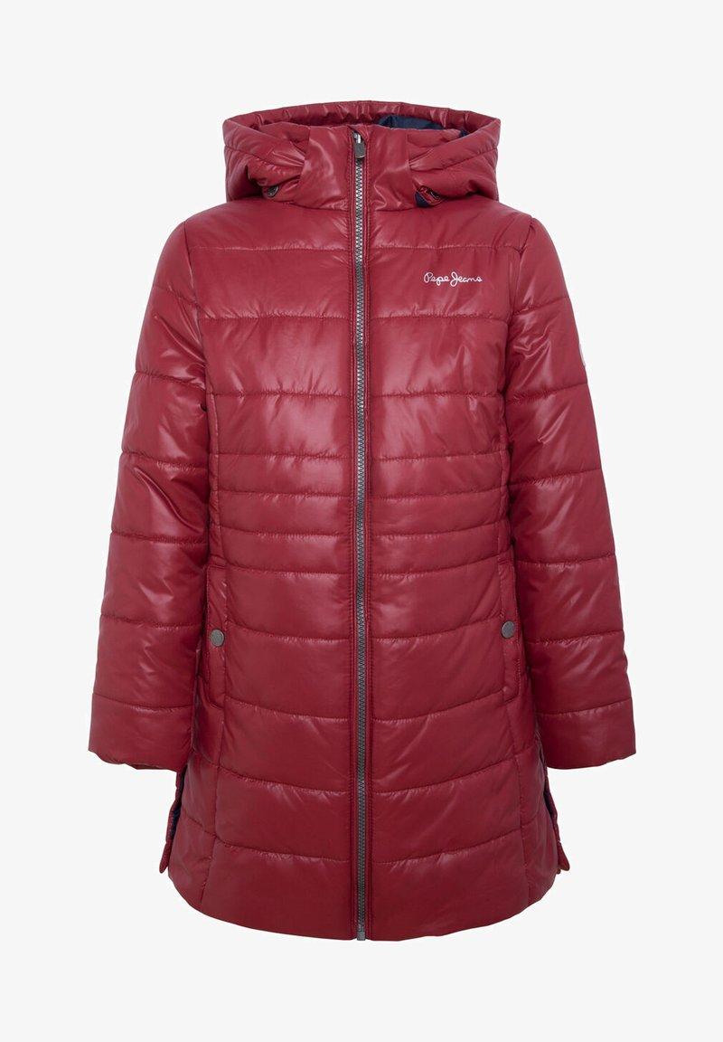 Pepe Jeans - BEE - Zimní kabát - tibetan red
