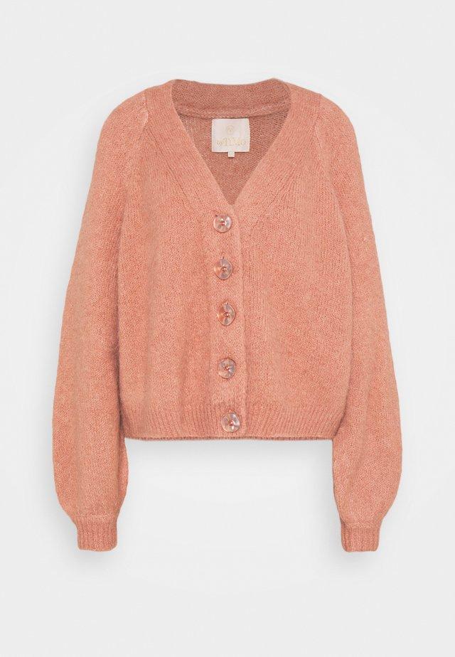 Kardigan - vintage pink