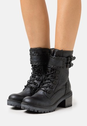 Lace-up ankle boots - graphit