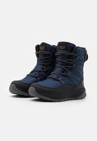 Jack Wolfskin - POLAR BEAR TEXAPORE HIGH UNISEX - Winter boots - blue/black - 1