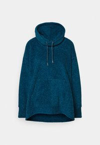 Nike Performance - COZY COWL - Fleece jumper - valerian blue heather/metallic silver - 5