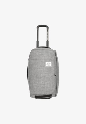 Wheeled suitcase - raven crosshatch
