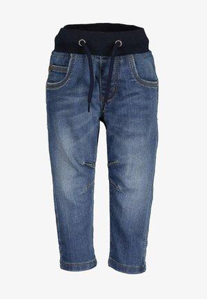 Slim fit jeans - dk blau