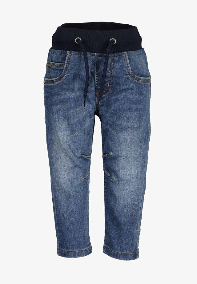 Jeans slim fit - dk blau