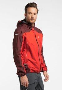 Haglöfs - L.I.M COMP JACKET  - Outdoor jacket - habanero/maroon red - 2