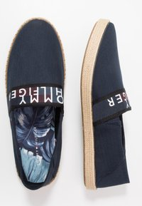 Tommy Hilfiger - SUMMER SLIPON - Espadryle - blue - 1