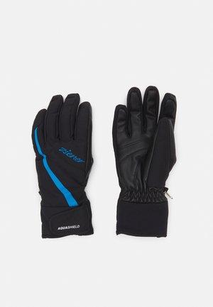 LADY GLOVE - Handschoenen - black/french blue