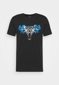 CHROME TEE - T-shirt med print - black