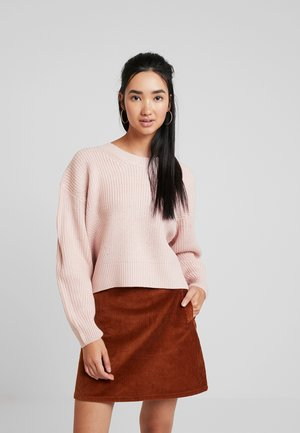 FASHIONING JUMPER - Pullover - nude