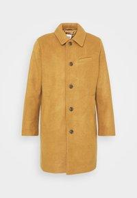 SOFT OVERCOAT - Classic coat - kola nut