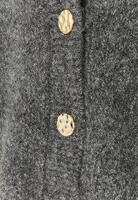 ONLY - ONYZOEY CARDIGAN - Cardigan - dark grey melange - 2
