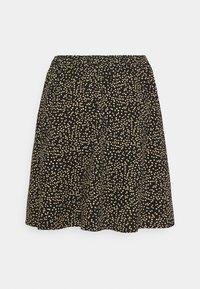 Moss Copenhagen - TALLA BEACH SKIRT - Mini skirt - black - 1