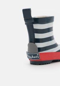 Playshoes - HALBSCHAFT MARITIM UNISEX - Holínky - marine/weiß - 5