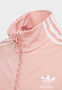 adidas Originals - TRACK TOP - Hoodie met rits - glory pink - 3