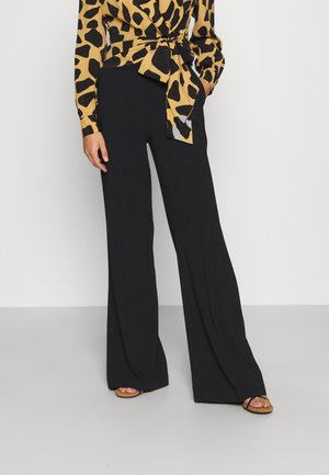 SBOZZARE PANTALONE - Trousers - black