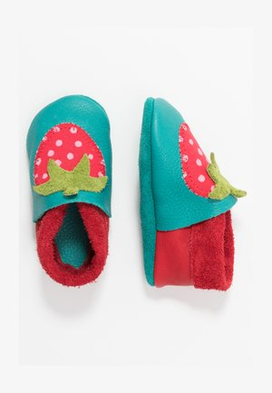 ERDBEERE SET - First shoes - berry/waikiki