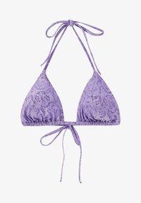 PULL&BEAR - MIT PRINT IN ROSA - Bikini top - purple - 4
