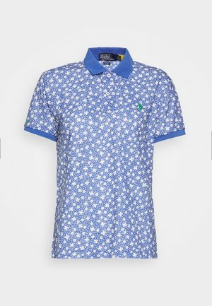 Polo - blue/white