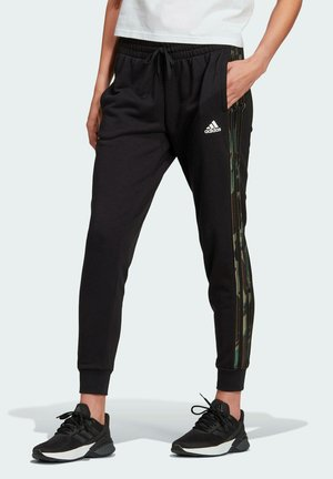 3-STRIPES C PT ESSENTIALS SPORTS REGULAR PANTS - Trainingsbroek - black