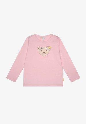 SWEET HEART MIT MOTIVBÄR - Long sleeved top - pink nectar