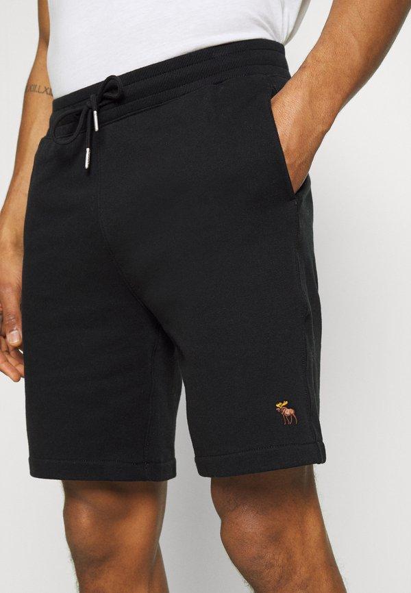 Abercrombie & Fitch ICON - Szorty - black/czarny Odzież Męska NFET
